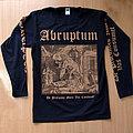 ABRUPTUM - De Profundis Mors Vas Cousumet (Long Sleeve) TShirt or Longsleeve