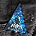 Desaster - Patch - DESASTER - Divine Blasphemies 85x105mm (woven patch)