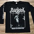 Sargeist - TShirt or Longsleeve - SARGEIST - Disciple of The Heinous Path (Long Sleeve  T-Shirt)