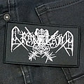 Graveland - Patch - GRAVELAND - Silver Logo 105X60 mm (woven)