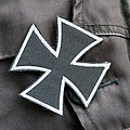 Maltese Cross - Patch - MALTESE CROSS 70x70mm (embroidered)