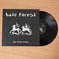 Hate Forest - Tape / Vinyl / CD / Recording etc - HATE FOREST – Hour Of The Centaur (Black Vinyl) + Booklet