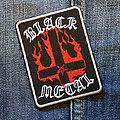 Black Metal - Patch - BLACK METAL - Fire Cross 62X82 mm (embroidered)