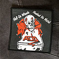 ACID - Hell On Wheels Hooked On Metal (Woven Patch)