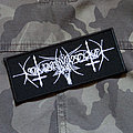 NOKTURNAL MORTUM - Goat Logo 125X53 mm (embroidered patch)
