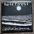 "HATE FOREST / LEGION OF DOOM - Grief Of The Universe / Spinning Galaxies 7"" EP Split Splatter Vinyl"