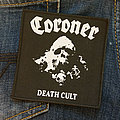 CORONER - Death Cult 100x105 mm (woven)