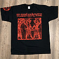 BLOOD OF KINGU - Dark Star on the Right Horn of the Crescent Moon (T-Shirt)