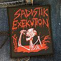 Sadistik Exekution - Patch - SADISTIK EXEKUTION - Bloody Skeleton 95x113 mm (woven)