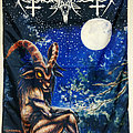 Nokturnal Mortum - Other Collectable - NOKTURNAL MORTUM -  Fullmoon Night (Banner)