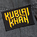 KUBLAI KHAN - Logo 110X70 mm (embroidered) Patch