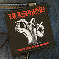 Blasphemy - Patch - BLASPHEMY - Victory (Son Of The Damned) 100x105 mm (woven)