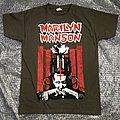 MARILYN MANSON - Rose & Pistols (T-Shirt)