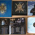 Nokturnal Mortum - Tape / Vinyl / CD / Recording etc - NOKTURNAL MORTUM / GRAVELAND - The Spirit Never Dies (White Blue Marble Vinyl...