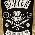 Slayer - Patch - SLAYER - Los Angekes (Backpatch)