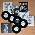"Nihilist - Tape / Vinyl / CD / Recording etc - NIHILIST – Carnal Leftovers (5 x 7"" EP Vinyl BOX) Ltd. 700 copies"