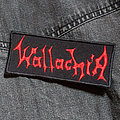 WALLACHIA - Logo 110X50 mm (embroidered) Patch