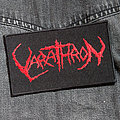 VARATHRON - Red Logo 120X70 mm (embroidered) Patch