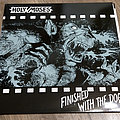"Holy Moses - Tape / Vinyl / CD / Recording etc - Holy Moses ‎– Finished With The Dogs (12"" + 7"" ltd. 150 black vinyl)"