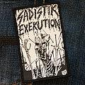 Sadistik Exekution - Patch - SADISTIK EXEKUTION - 1987 Demo 68x107 mm (woven)