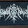 Nokturnal Mortum - Patch - NOKTURNAL MORTUM - Lunarna Poeziya Logo (Patch)
