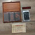 BLOOD OF KINGU - The Cycle Returneth (Handmade Wooden MC Box) Tape / Vinyl / CD / Recording etc