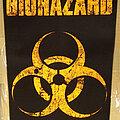 Biohazard - Patch - Biohazard Backpatch