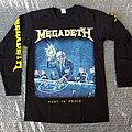 MEGADETH - Rust In Peace (Long Sleeve) TShirt or Longsleeve