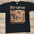 ABRUPTUM - De Profundis Mors Vas Cousumet (T-Shirt)