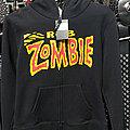 Rob Zombie - Hooded Top - ROB ZOMBIE (Zipper Hoodie)