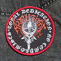 ARCHGOAT - Patch - ARCHGOAT - Total Dedication No Compromises 100 mm (woven)