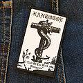XANTOTOL - Cult Of The Black Pentagram 65x105 mm (woven)