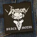 VENOM - Black Metal 100x105 mm (woven)