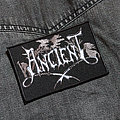 Ancient - Patch - ANCIENT - Logo 110X75 mm (embroidered)