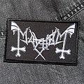 MAYHEM - Logo 110X65 mm (embroidered patch)