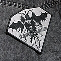 KATHARSIS - Fourth Reich 100X100 mm (woven) Patch