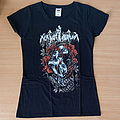 NOKTURNAL MORTUM - Skull and Poppies (Girly T-Shirt)
