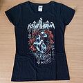 Nokturnal Mortum - TShirt or Longsleeve - NOKTURNAL MORTUM - Skull and Poppies (Girly T-Shirt)