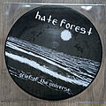 """HATE FOREST / LEGION OF DOOM - Grief Of The Universe / Spinning Galaxies 7"""" EP Split Picture Vinyl"""