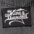 KING DIAMOND - Logo 90X60 mm (embroidered) Patch