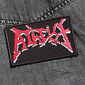 Atheist - Patch - ATHEIST - Logo 110X65 mm (embroidered)