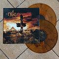 Nile - Tape / Vinyl / CD / Recording etc - NILE – Ithyphallic (Double Marbled Orange Vinyl) Numbered