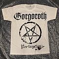 GORGOROTH - Pentagram (White TS)