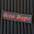 GRAVE DIGGER - Logo 120x35 mm (embroidered)