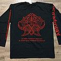 ABRUPTUM - In Umbra Malitiae Ambulabo In Aeternum In Triumpho Tenebrarum (Long Sleeve T-Shirt)
