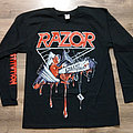 RAZOR - Violent Restitution (Longsleeve T-Shirt)
