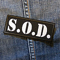 S.O.D. - Patch - S.O.D. - Logo 100X40 mm (embroidered)