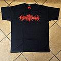 Nokturnal Mortum - TShirt or Longsleeve - NOKTURNAL MORTUM - Лунарна Поезія Red Logo (T-Shirt)