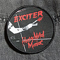 EXCITER - Heavy Metal Maniac 90 mm (woven patch)