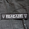 WATAIN - Logo 215X48 mm (printed) Patch